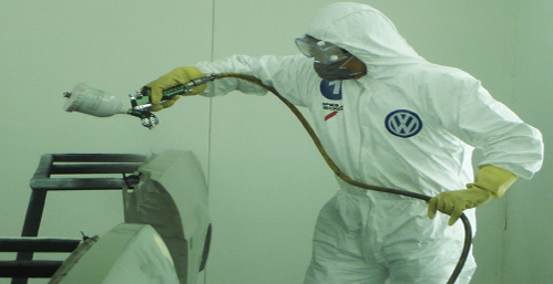 一起来了解-邦昵汽车漆施工操作时喷枪的使用注意事项